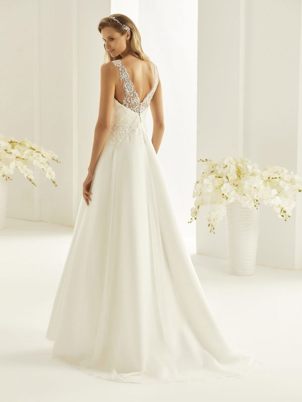 Brautkleid Bianco Evento 2019 Bridal Dress FIONA 3 Bei Avorio Vestito BrideStore And More Brautmode Berlin