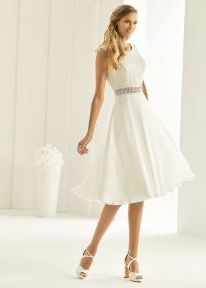 Brautkleid Bianco Evento 2019 Bridal Dress FLORIDA 1 Bei Avorio Vestito BrideStore And More Brautmode Berlin