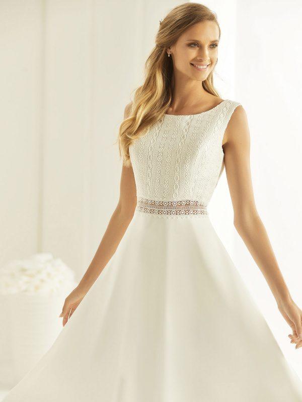 Brautkleid Bianco Evento 2019 Bridal Dress FLORIDA 2 Bei Avorio Vestito BrideStore And More Brautmode Berlin
