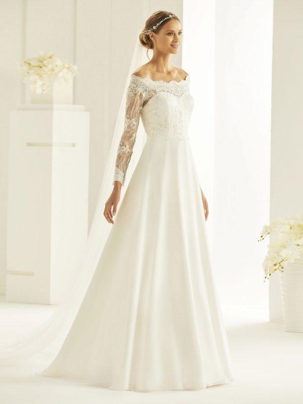 Brautkleid Bianco Evento 2019 Bridal Dress HEIDI 1 Bei Avorio Vestito BrideStore And More Brautmode Berlin