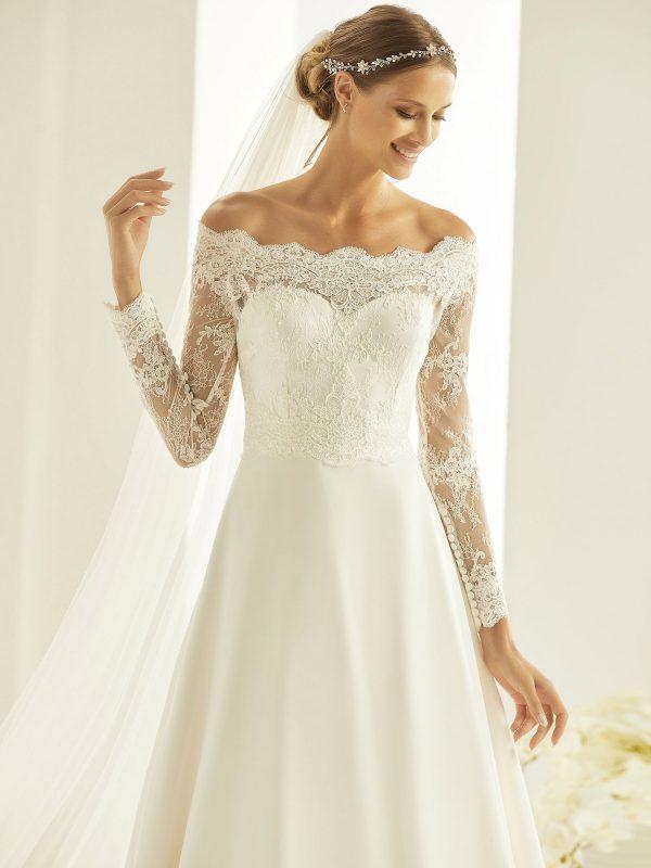 Brautkleid Bianco Evento 2019 Bridal Dress HEIDI 2 Bei Avorio Vestito BrideStore And More Brautmode Berlin