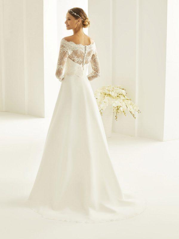 Brautkleid Bianco Evento 2019 Bridal Dress HEIDI 3 Bei Avorio Vestito BrideStore And More Brautmode Berlin