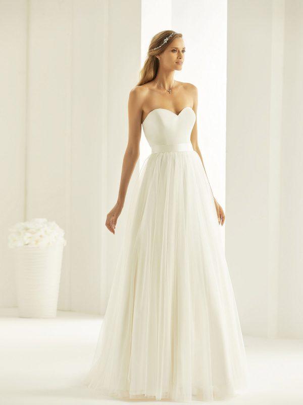 Brautkleid Bianco Evento 2019 Bridal Dress MAHALIA 1 Bei Avorio Vestito BrideStore And More Brautmode Berlin