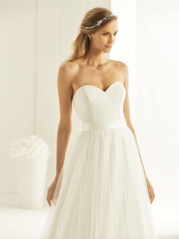 Brautkleid Bianco Evento 2019 Bridal Dress MAHALIA 2 Bei Avorio Vestito BrideStore And More Brautmode Berlin