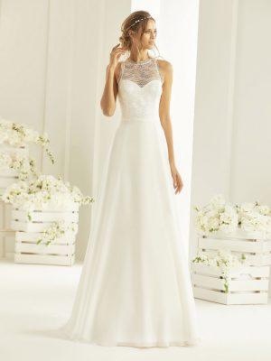 Brautkleid Bianco Evento 2019 Bridal Dress NALA 1 Bei Avorio Vestito BrideStore And More Brautmode Berlin