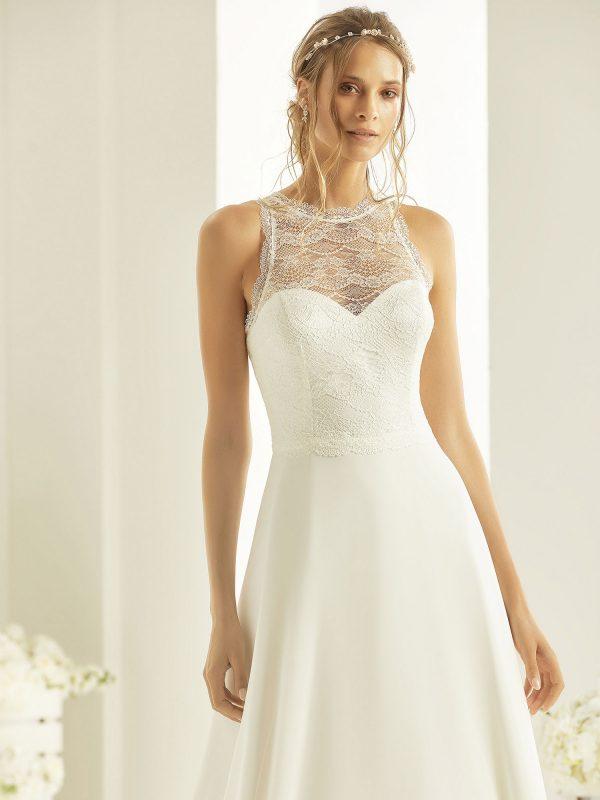 Brautkleid Bianco Evento 2019 Bridal Dress NALA 2 Bei Avorio Vestito BrideStore And More Brautmode Berlin