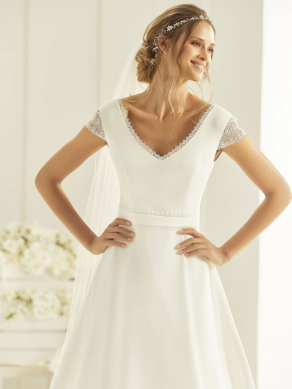 Brautkleid Bianco Evento 2019 Bridal Dress NATURA 2 Bei Avorio Vestito BrideStore And More Brautmode Berlin