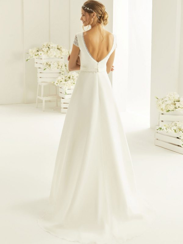 Brautkleid Bianco Evento 2019 Bridal Dress NATURA 3 Bei Avorio Vestito BrideStore And More Brautmode Berlin