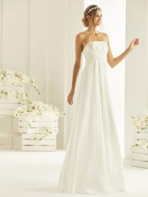 Brautkleid Bianco Evento 2019 Bridal Dress NEVE 1 Bei Avorio Vestito BrideStore And More Brautmode Berlin
