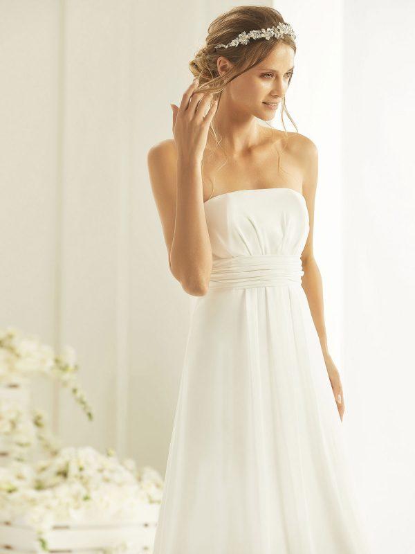 Brautkleid Bianco Evento 2019 Bridal Dress NEVE 2 Bei Avorio Vestito BrideStore And More Brautmode Berlin