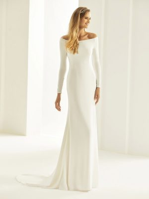Brautkleid Bianco Evento 2019 Bridal Dress NICOLE 1 Bei Avorio Vestito BrideStore And More Brautmode Berlin