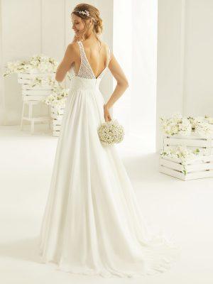 Brautkleid Bianco Evento 2019 Bridal Dress REBECA 3 Bei Avorio Vestito BrideStore And More Brautmode Berlin