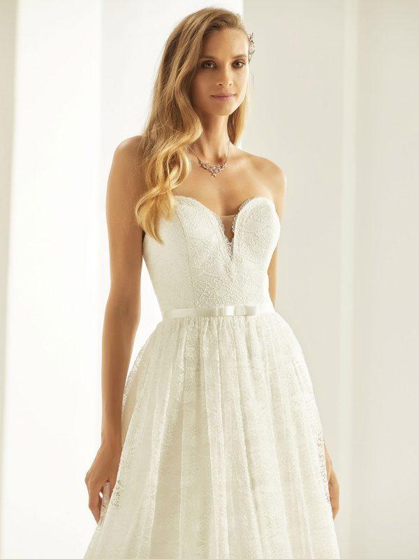 Brautkleid Bianco Evento 2019 Bridal Dress SCARLETT 2 Bei Avorio Vestito BrideStore And More Brautmode Berlin