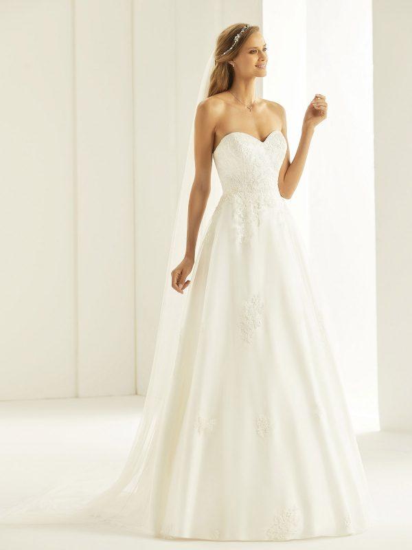 Brautkleid Bianco Evento 2019 Bridal Dress TATIANA 1 Bei Avorio Vestito BrideStore And More Brautmode Berlin