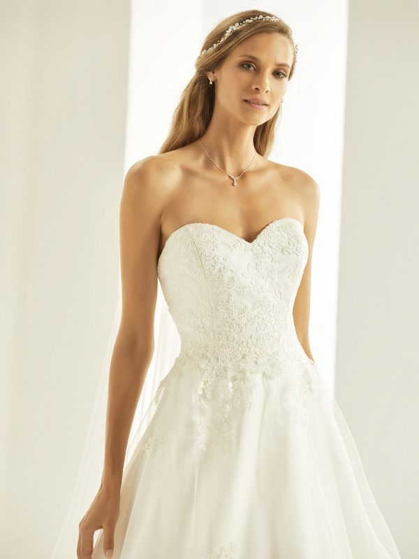 Brautkleid Bianco Evento 2019 Bridal Dress TATIANA 2 Bei Avorio Vestito BrideStore And More Brautmode Berlin