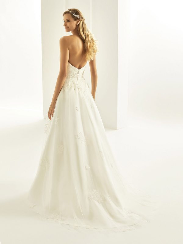 Brautkleid Bianco Evento 2019 Bridal Dress TATIANA 3 Bei Avorio Vestito BrideStore And More Brautmode Berlin