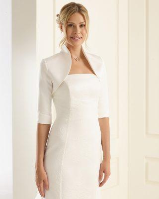 Braut Bolero Bianco Evento 2019 E55S Avorio Vestito BrideStore And More Brautaccessoires Berlin