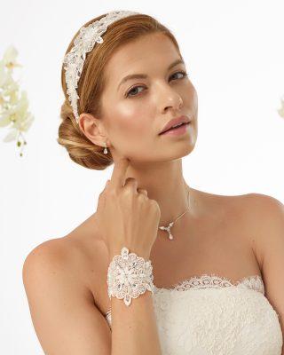 Braut Kopfschmuck 2019 109 N3 1 Avorio Vestito BrideStore And More Brautaccessoires Berlin