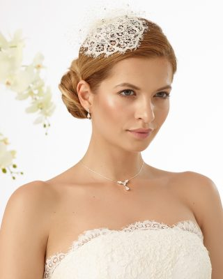Braut Kopfschmuck 2019 121 1 Avorio Vestito BrideStore And More Brautaccessoires Berlin