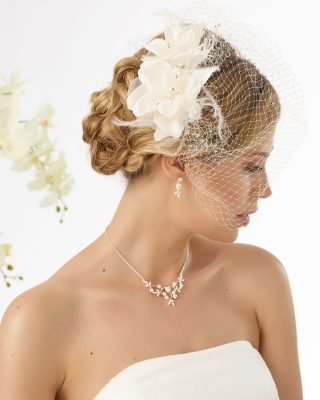 Braut Kopfschmuck 2019 9483 1 Avorio Vestito BrideStore And More Brautaccessoires Berlin