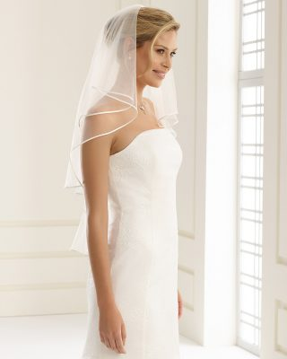 Brautschleier 2019 S5B 1 Avorio Vestito BrideStore And More Brautaccessoires Berlin