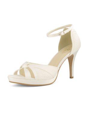 Brautschuhe Bianco Evento 2019 AVALIA Bridal Shoes ALBA 2 Avorio Vestito BrideStore And More Brautaccessoires Berlin