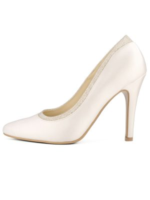 Brautschuhe Bianco Evento 2019 AVALIA Bridal Shoes DIVA 1 Avorio Vestito BrideStore And More Brautaccessoires Berlin