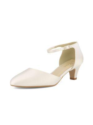 Brautschuhe Bianco Evento 2019 AVALIA Bridal Shoes GINA 2 Avorio Vestito BrideStore And More Brautaccessoires Berlin