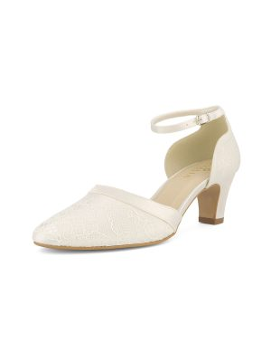 Brautschuhe Bianco Evento 2019 AVALIA Bridal Shoes KATI 2 Avorio Vestito BrideStore And More Brautaccessoires Berlin