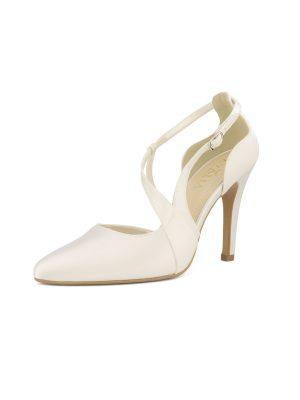 Brautschuhe Bianco Evento 2019 AVALIA Bridal Shoes LEXI 2 Avorio Vestito BrideStore And More Brautaccessoires Berlin