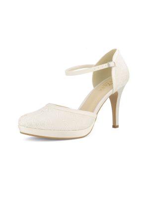 Brautschuhe Bianco Evento 2019 AVALIA Bridal Shoes MAYA 2 Avorio Vestito BrideStore And More Brautaccessoires Berlin