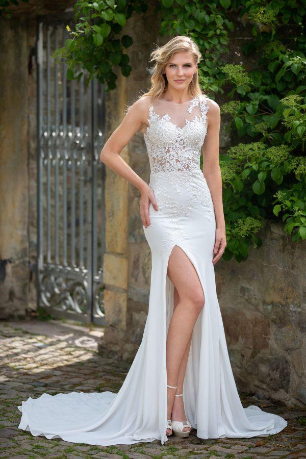 Amera Vera Kollektion 2020 Ivory Brautkleid Addison B2040 3 Bei Avorio Vestito BrideStore And More Brautmode In Berlin Eiche