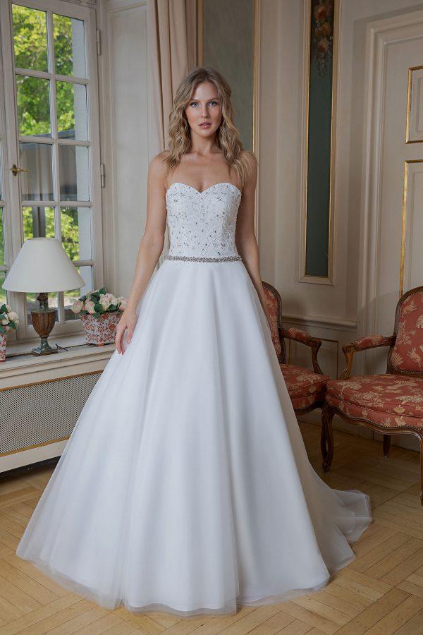 Amera Vera Kollektion 2020 Ivory Brautkleid Adelisa B2024 3 Bei Avorio Vestito BrideStore And More Brautmode In Berlin Eiche