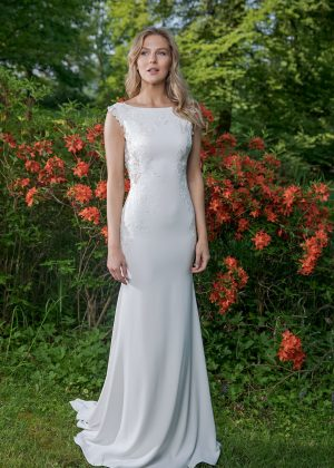 Amera Vera Kollektion 2020 Ivory Brautkleid Adina B2041 4 Bei Avorio Vestito BrideStore And More Brautmode In Berlin Eiche