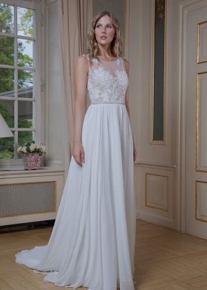 Amera Vera Kollektion 2020 Ivory Brautkleid Adrijana B2025 4 Bei Avorio Vestito BrideStore And More Brautmode In Berlin Eiche