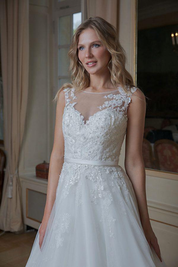 Amera Vera Kollektion 2020 Ivory Brautkleid Aidana B2009 4 Bei Avorio Vestito BrideStore And More Brautmode In Berlin Eiche