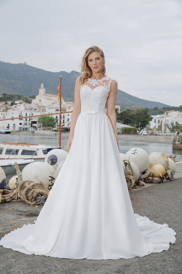 Amera Vera Kollektion 2020 Ivory Brautkleid Aleha B2017 2 Bei Avorio Vestito BrideStore And More Brautmode In Berlin Eiche