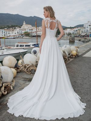 Amera Vera Kollektion 2020 Ivory Brautkleid Aleha B2017 4 Bei Avorio Vestito BrideStore And More Brautmode In Berlin Eiche