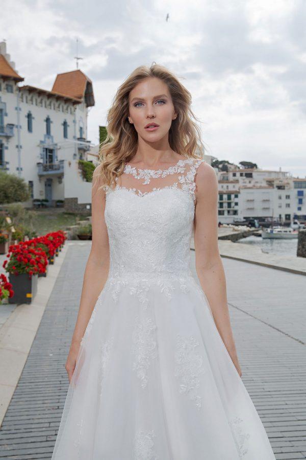 Amera Vera Kollektion 2020 Ivory Brautkleid Alisea B2011 4 Bei Avorio Vestito BrideStore And More Brautmode In Berlin Eiche
