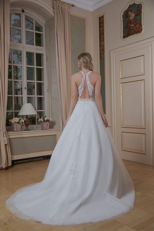 Amera Vera Kollektion 2020 Ivory Brautkleid Amina B2004 3 Bei Avorio Vestito BrideStore And More Brautmode In Berlin Eiche