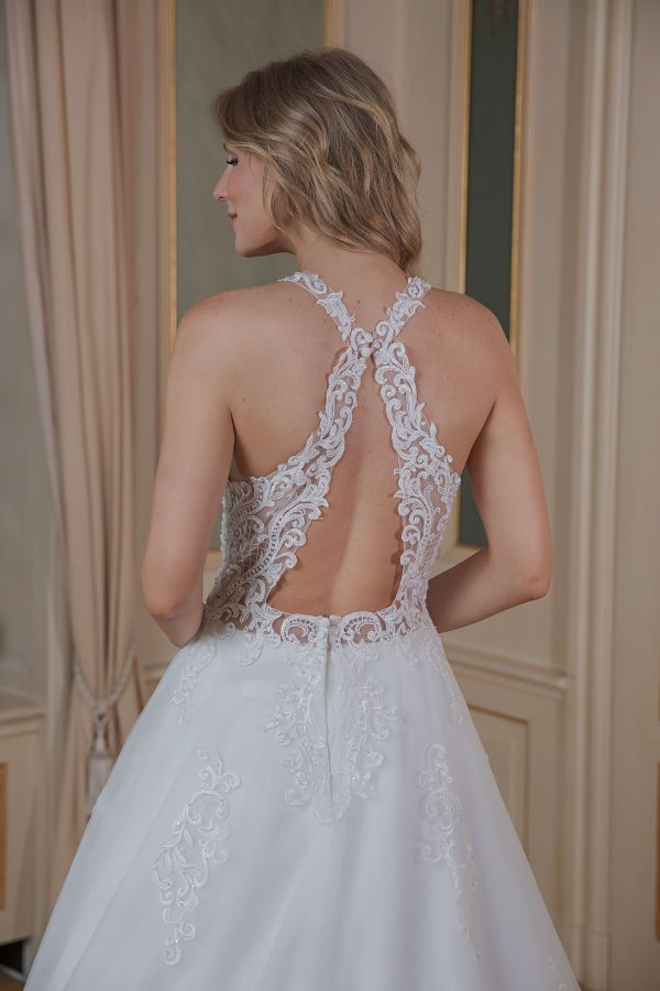 Amera Vera Kollektion 2020 Ivory Brautkleid Amina B2004 4 Bei Avorio Vestito BrideStore And More Brautmode In Berlin Eiche