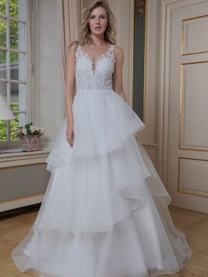 Amera Vera Kollektion 2020 Ivory Brautkleid Arianna B2006 3 Bei Avorio Vestito BrideStore And More Brautmode In Berlin Eiche