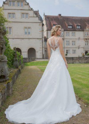 Amera Vera Kollektion 2020 Ivory Brautkleid Asttrid B2036 5 Bei Avorio Vestito BrideStore And More Brautmode In Berlin Eiche