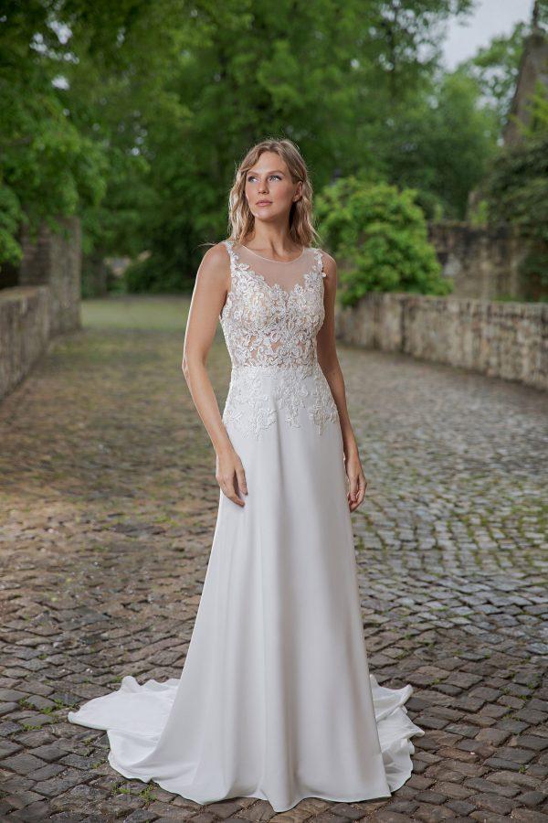 Amera Vera Kollektion 2020 Ivory Brautkleid Aviva B2048 2 Bei Avorio Vestito BrideStore And More Brautmode In Berlin Eiche