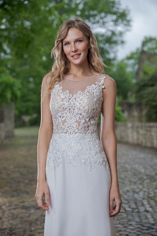 Amera Vera Kollektion 2020 Ivory Brautkleid Aviva B2048 3 Bei Avorio Vestito BrideStore And More Brautmode In Berlin Eiche