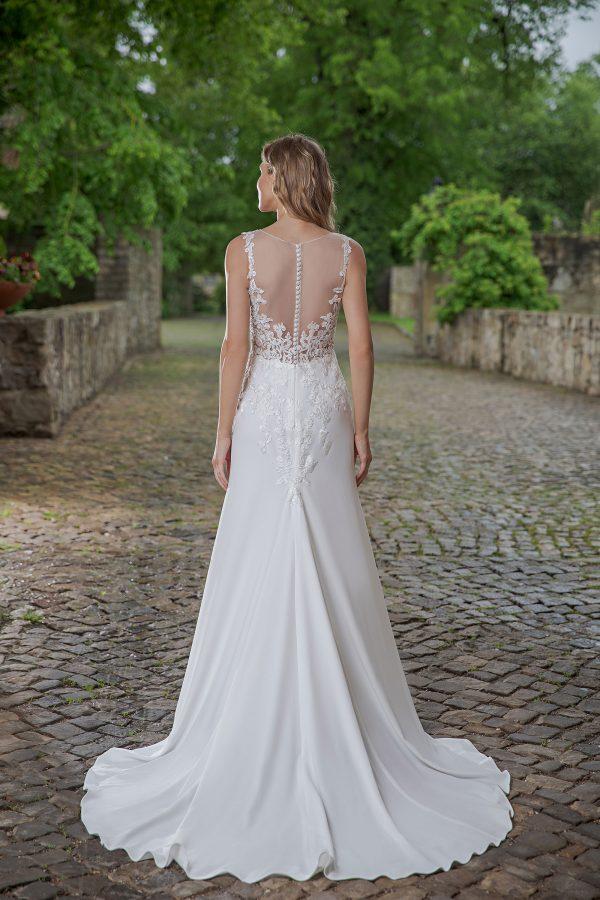 Amera Vera Kollektion 2020 Ivory Brautkleid Aviva B2048 4 Bei Avorio Vestito BrideStore And More Brautmode In Berlin Eiche