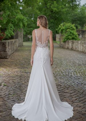 Amera Vera Kollektion 2020 Ivory Brautkleid Aviva B2048 4 Bei Avorio Vestito BrideStore And More Brautmode In Berlin Eiche