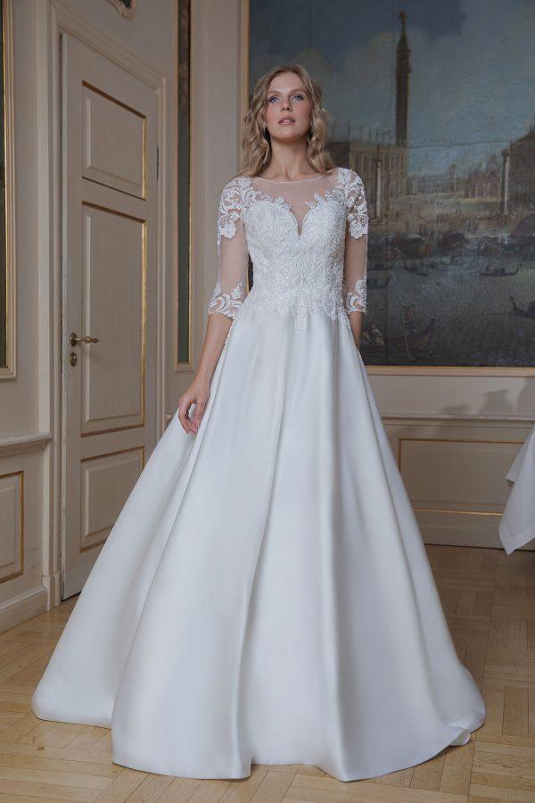Amera Vera Kollektion 2020 Ivory Brautkleid Azura B2021 2 Bei Avorio Vestito BrideStore And More Brautmode In Berlin Eiche