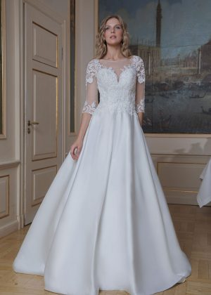 Amera Vera Kollektion 2020 Ivory Brautkleid Azura B2021 2 Bei Avorio Vestito BrideStore And More Brautmode In Berlin Eiche