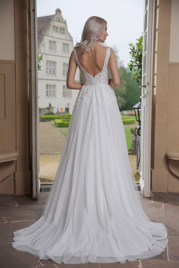 AnnAngelex Kollektion 2020 Ivory Brautkleid Bahira B2051 3 Avorio Vestito BrideStore And More Brautmode In Berlin Eiche